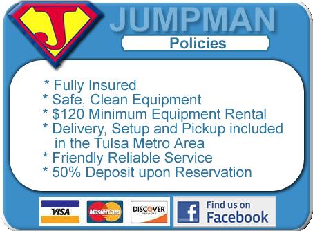 Jumpman Rental Policies